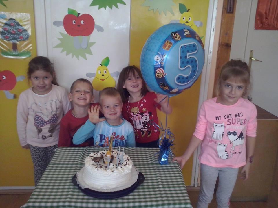 Születésnap ünneplés
